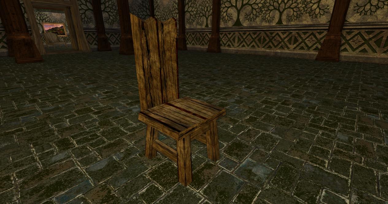 chaise grossière des r2